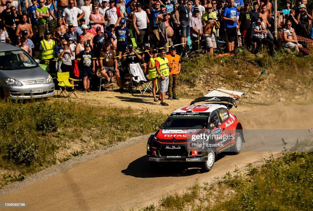 FIA World Rally Championship - Neste Rally Finland Day Three : News Photo