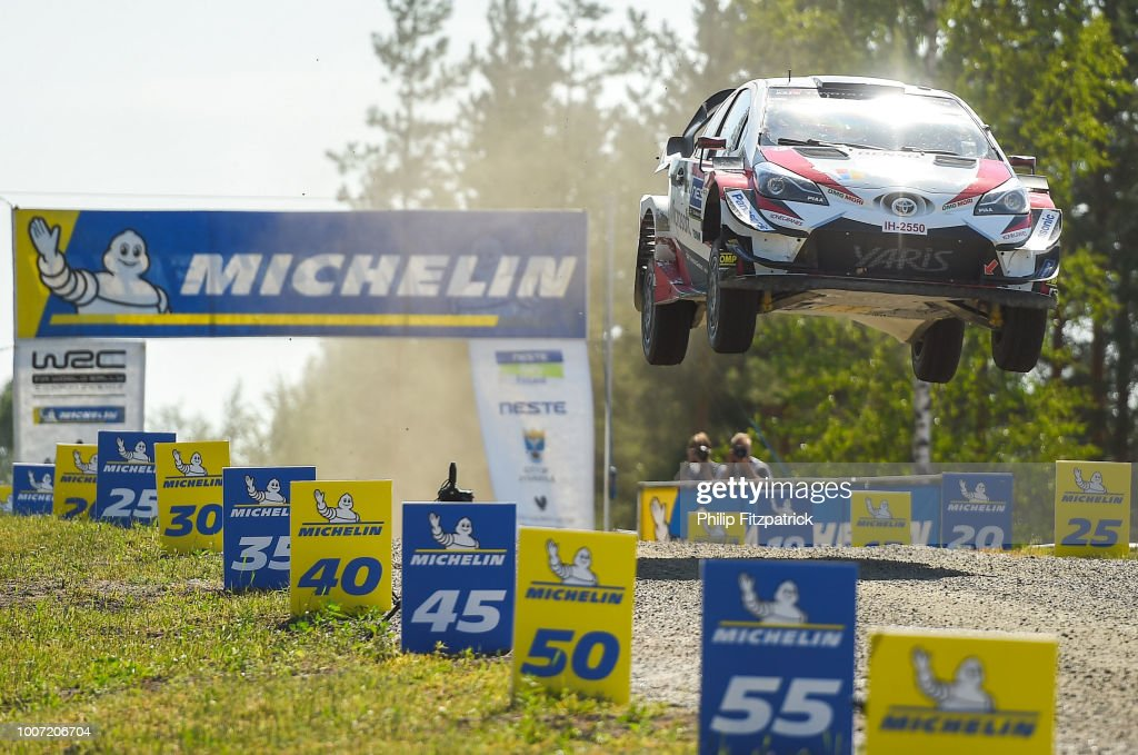 FIA World Rally Championship - Neste Rally Finland Day Four : News Photo