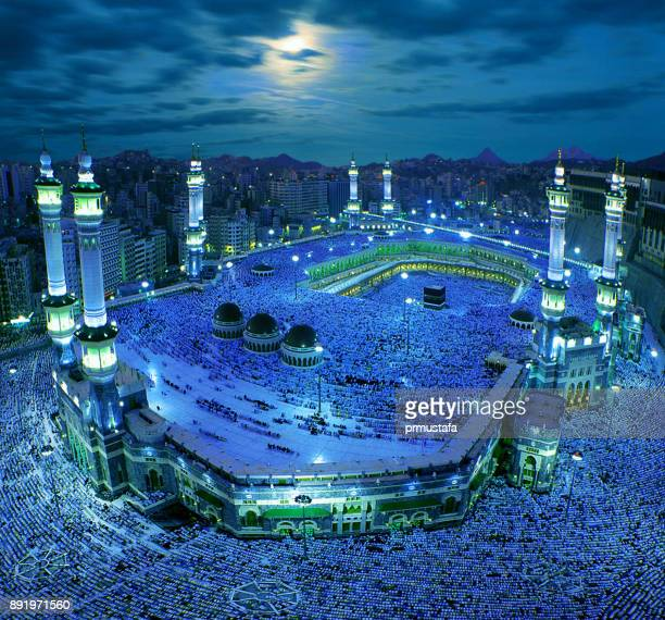 kaaba mecca - pilgrimage stock pictures, royalty-free photos & images