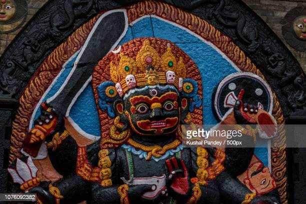 kaal bhairav - kaal stock pictures, royalty-free photos & images