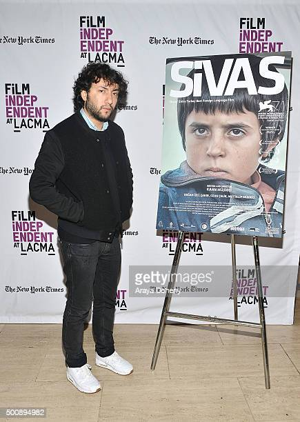 """Kaan Mujdeci attends the Film Independent at LACMA screening and Q&A of """"Sivas"""" at Bing Theatre At LACMA on December 10, 2015 in Los Angeles,..."""