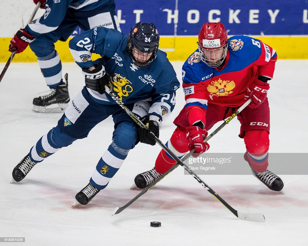 2018 Under-18 Five Nations Tournament - Finland v Russia : News Photo