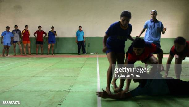 Kabaddi Kabbadi National Kabbadi trials at SAI Grounds in Kandivali on Saturday
