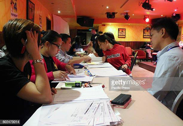 Kabayan enrollment day last December 18 2015 International Training Center with Chief Executive Officer Amro Elmasry opens a 2nd semester short...