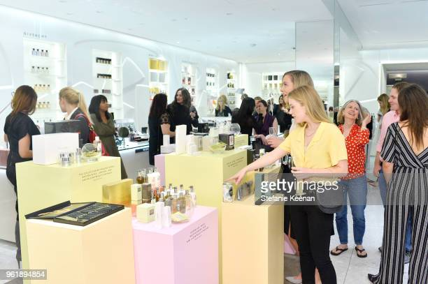 Kabby Borders and Helen Kennedy Turner shop at Barneys New York Celebrates the Farrah Fawcett Foundation at Barneys New York Beverly Hills on May 23...