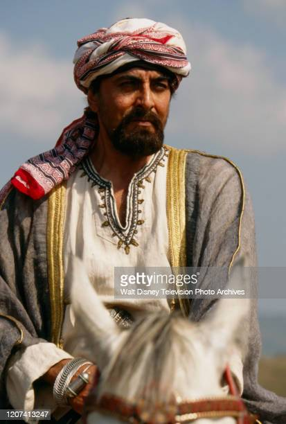 Kabir Bedi appearing in the ABC tv movie 'Forbidden Territory Stanley's Search for Livingstone'
