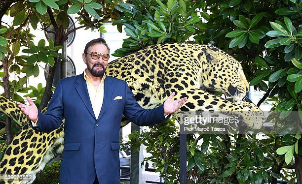 Kabir Bedi attends 'Mohenjo daro' photocall during the 69th Locarno Film Festival on August 13 2016 in Locarno Switzerland