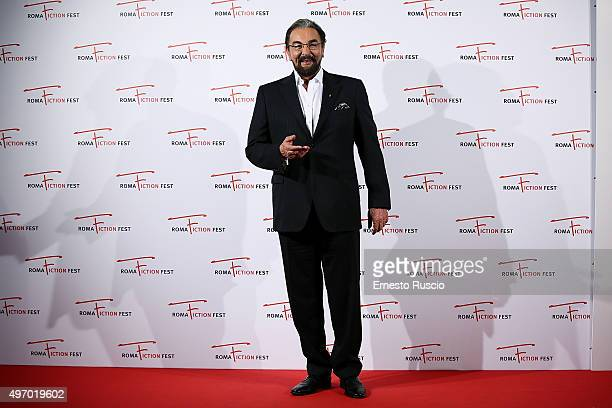 Kabir Bedi attends the Red Carpet Buddha King of the Kings at Cinema Adriano on November 13 2015 in Rome Italy