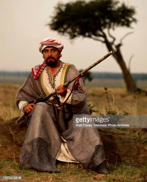Kabir Bedi promotional photo for the ABC tv movie 'Forbidden Territory Stanley's Search for Livingstone'