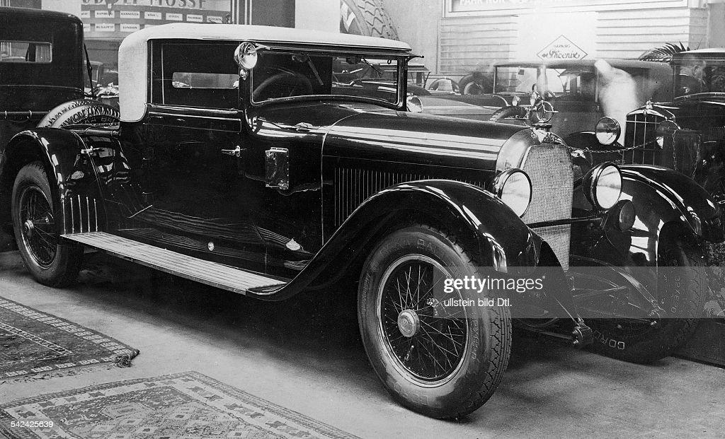 Kabriolett von Austro - Daimler Dreisitzer1928 News Photo - Getty ...