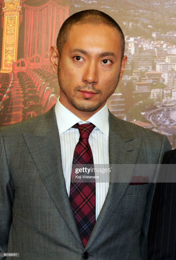 'Kabuki In Monaco' Press Conference : News Photo