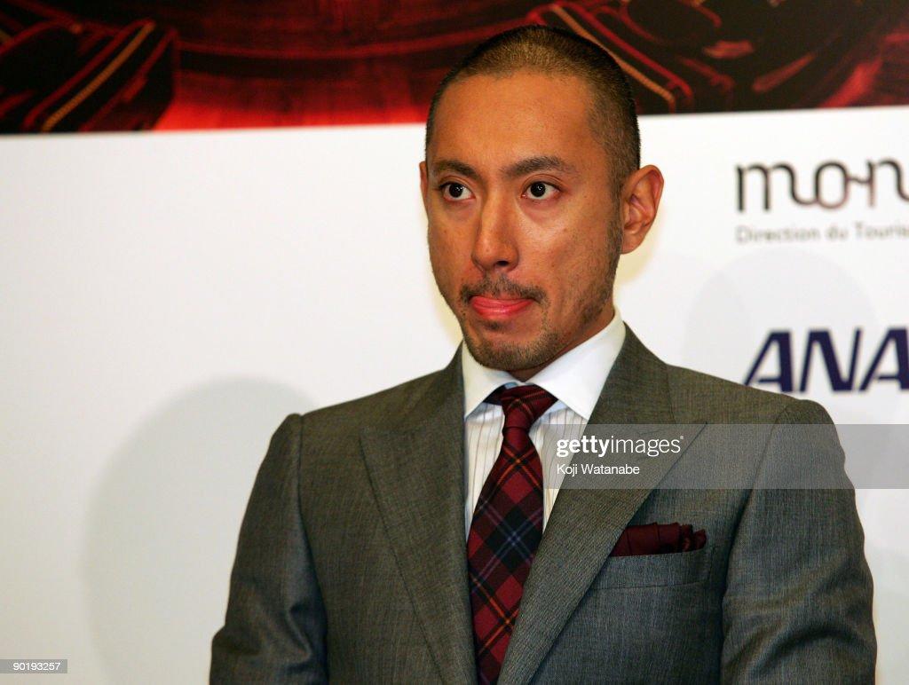 """Kabuki In Monaco"" Press Conference : News Photo"