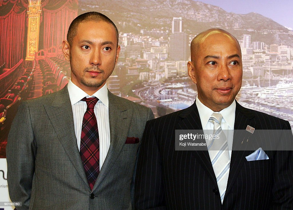 """Kabuki In Monaco"" Press Conference : News Photo"