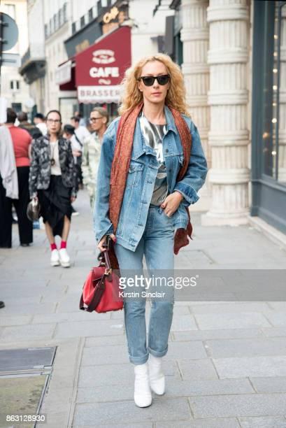 397ba9ac67c103 Kabuki store owner and fashion buyer Elina Halimi wears a Loewe bag and  Rayban sunglasses Louis