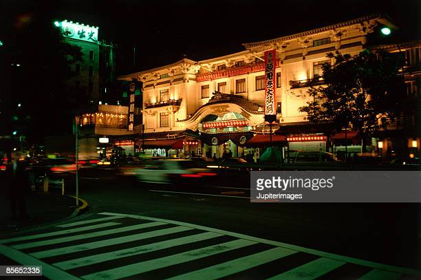 Kabuki Theatre , Tokyo , Japan