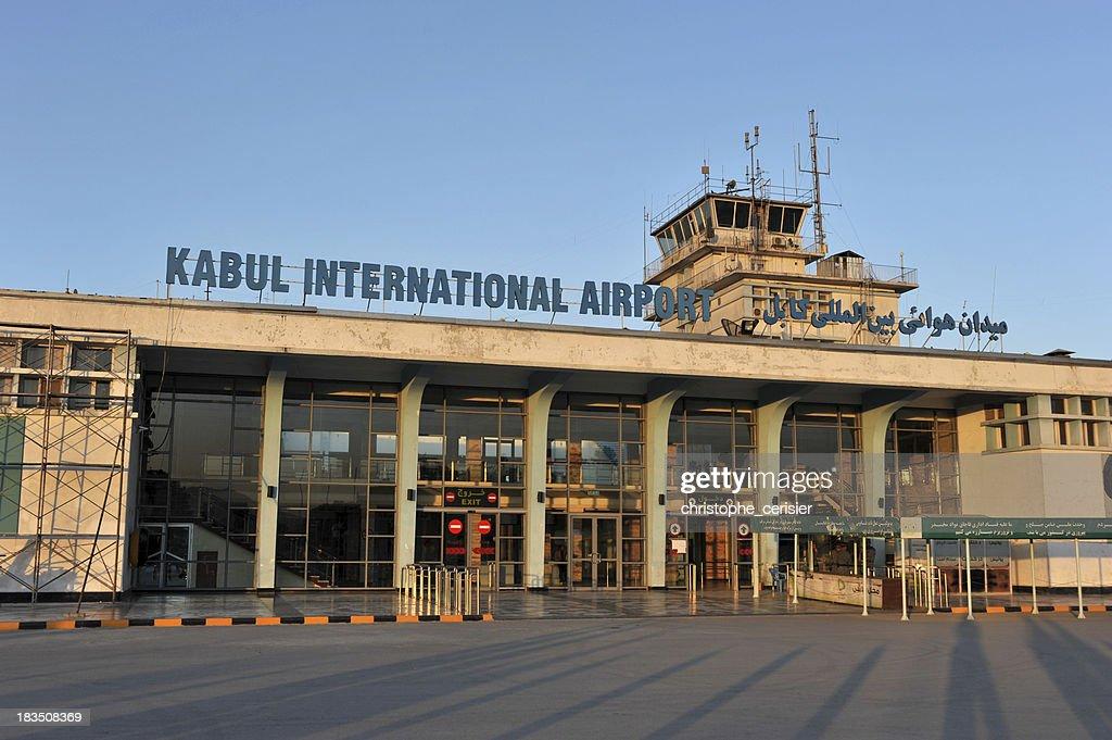 Kabul Airport : Stockfoto