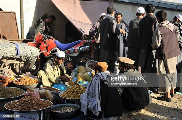 kabul's bazaar / market - kabul stock pictures, royalty-free photos & images