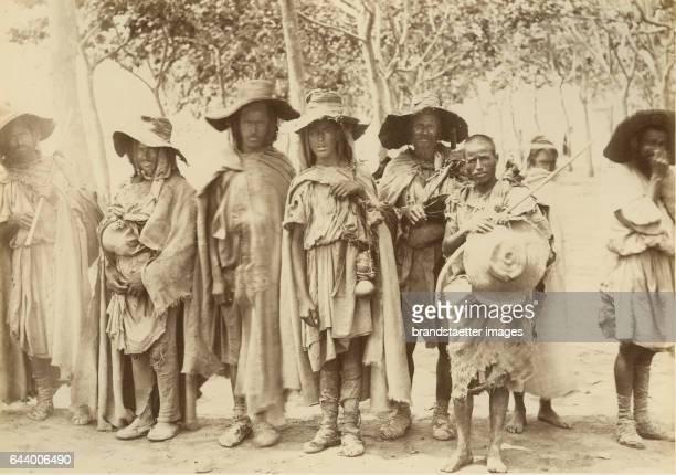 Kabyle harvester Algeria Journey to Tanger Oran Algér 1890 Albumen print Photograph Photo album from the estate of Empress Elisabeth From the...