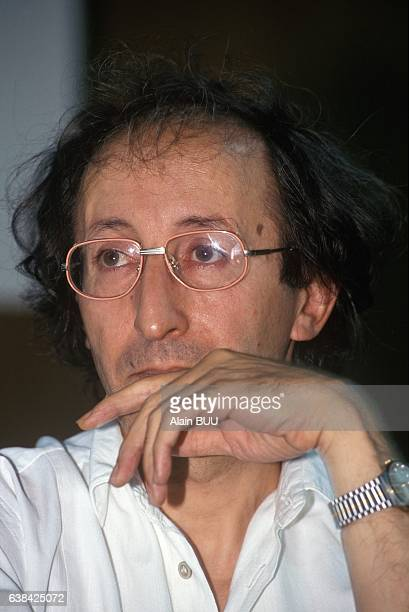Kabyle singer Idir at the 4th SOS Racisme conference in Créteil, France, on July 11, 1993.