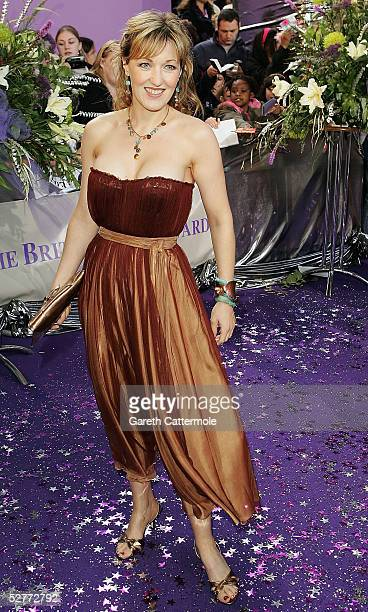 Kacey Ainsworth arrives at the British Soap Awards 2005 at BBC Television Centre on May 7 2005 in London England The annual awards recognise the best...