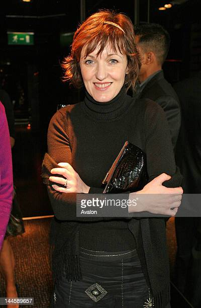 Kacey Ainsworth at the Hay Fever launch at the Theatre Royal Director Sir Peter Hall and cast present a gala performance of Noel Coward musical to...