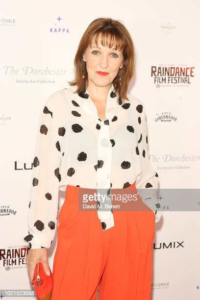 Kacey Ainsworth attends the Raindance VIP Party at The Dorchester on August 22 2018 in London England