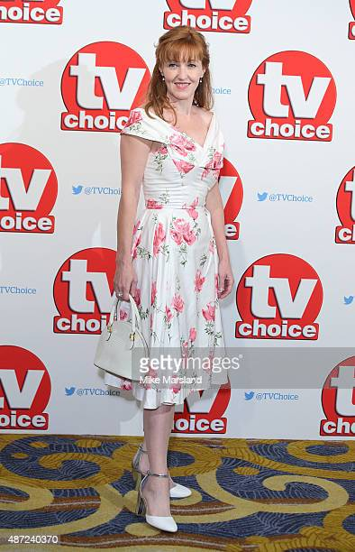 Kacey Ainsworth attends the TV Choice Awards 2015 at Hilton Park Lane on September 7 2015 in London England