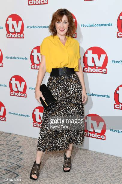 Kacey Ainsworth attends the TV Choice Awards at The Dorchester on September 10 2018 in London England