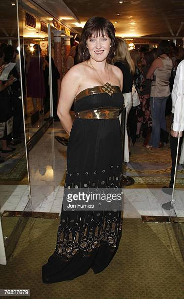 Kacey Ainsworth attends the TV Quick and TV Choice Awards at the Dorchester Hotel on September 03 2007 in London