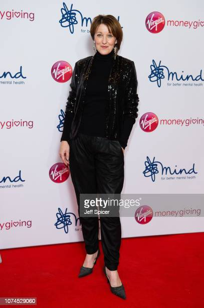 Kacey Ainsworth attends the Virgin Money Giving Mind Media Awards 2018 at Queen Elizabeth Hall on November 29 2018 in London England