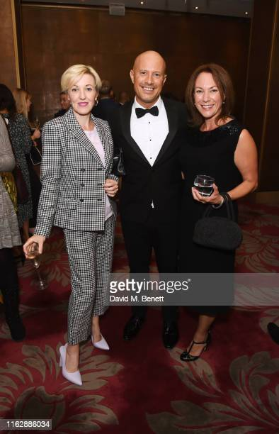 Kacey Ainsworth Dale Pinnock and Tanya Franks attend the Raindance Film Festival's Special Soiree at The May Fair Hotel on August 20 2019 in London...