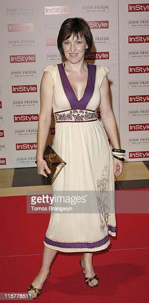 Kacey Ainsworth during InStyle Magazine 5th Birthday Party at Victoria Albert Museum in London Great Britain
