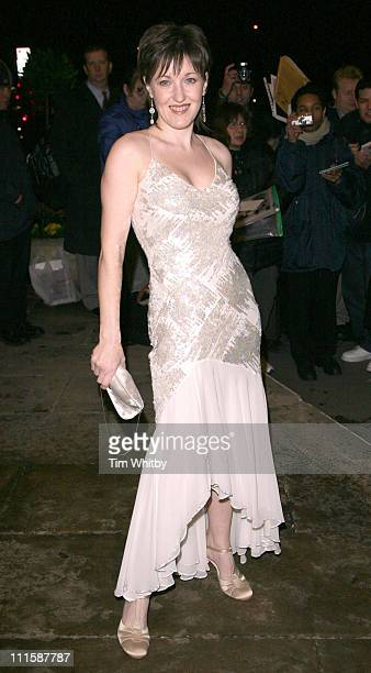 Kacey Ainsworth during Royal Television Society Programme Awards Outside Arrivals at Grosvenor House Hotel in London Great Britain