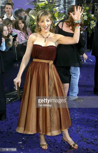 Kacey Ainsworth during The 2005 British Soap Awards Arrivals at BBC Tv Studios in London Great Britain