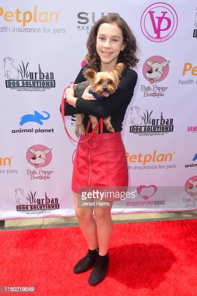 Kacey Fifield attends 4th Annual World Dog Day at West Hollywood Park on May 18, 2019 in West Hollywood, California.