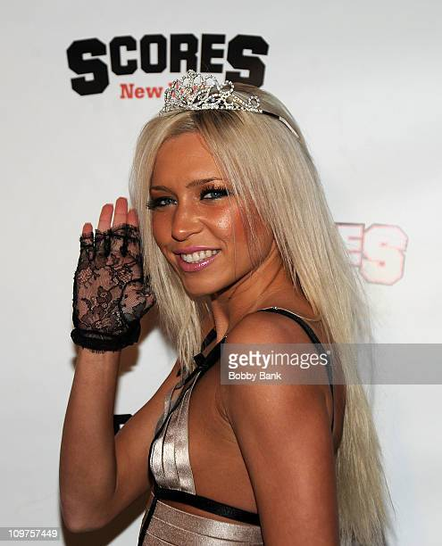 Kacey Jordan attends a party at Scores on March 3, 2011 in New York City.