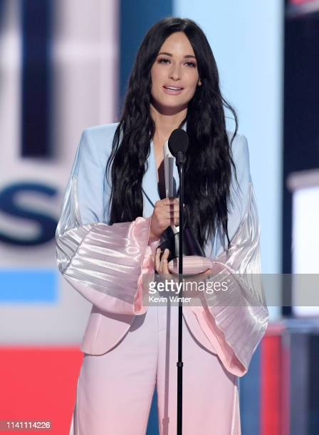 Kacey Musgraves accepts the Female Artist of the Year award onstage during the 54th Academy Of Country Music Awards at MGM Grand Garden Arena on...