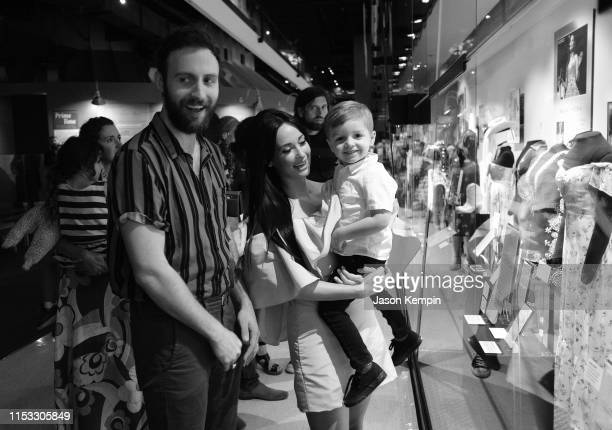 Kacey Musgraves and Ruston Kelly attend the Country Music Hall of Fame and Museum opening of new exhibition Kacey Musgraves All of the Colors at...