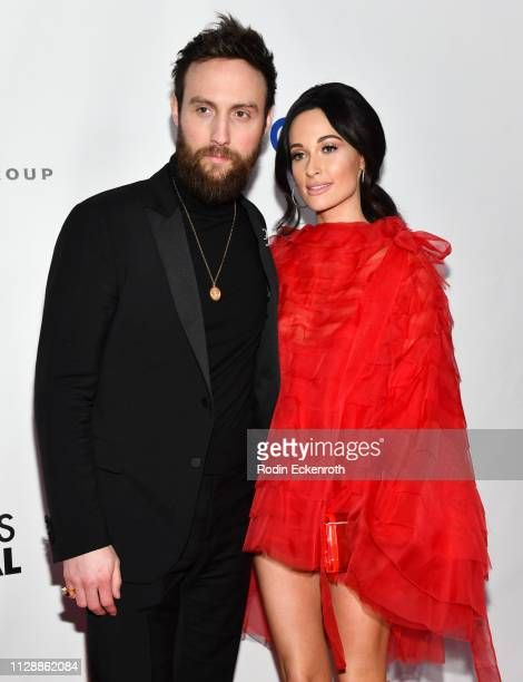 Kacey Musgraves and Ruston Kelly attend the Universal Music Group's 2019 After Party To Celebrate The GRAMMYs at ROW DTLA on February 10 2019 in Los...