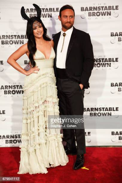 Kacey Musgraves and Ruston Kelly attends the 29th Barnstable Brown Kentucky Derby Eve Gala on May 5 2017 in Louisville Kentucky