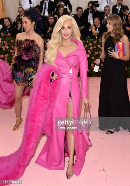 Kacey Musgraves arrives at the 2019 Met Gala Celebrating Camp Notes On Fashion at The Metropolitan Museum of Art on May 6 2019 in New York City