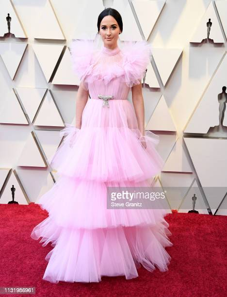 Kacey Musgraves arrives at the 91st Annual Academy Awards at Hollywood and Highland on February 24 2019 in Hollywood California