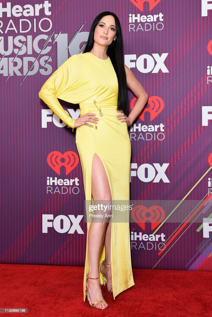 Kacey Musgraves attends 2019 iHeartRadio Music Awards press room