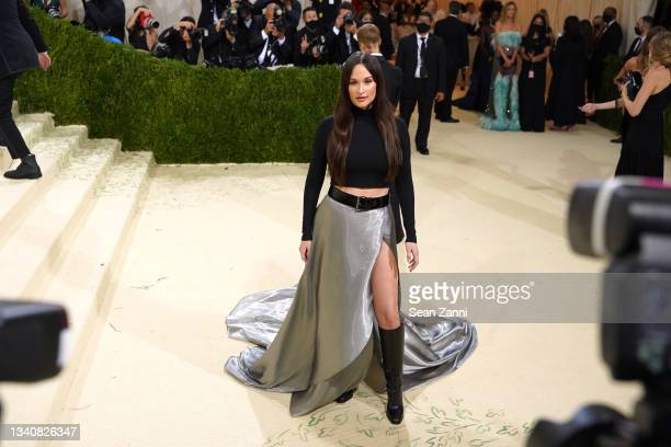 Kacey Musgraves attends 2021 Costume Institute Benefit - In America: A Lexicon of Fashion at the Metropolitan Museum of Art on September 13, 2021 in...
