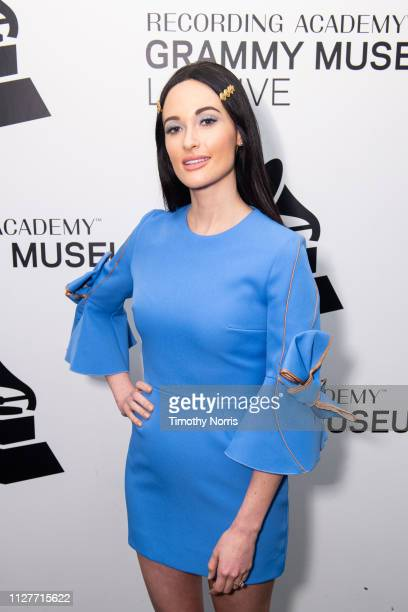 Kacey Musgraves attends An Evening with Kacey Musgraves at The GRAMMY Museum on February 05 2019 in Los Angeles California