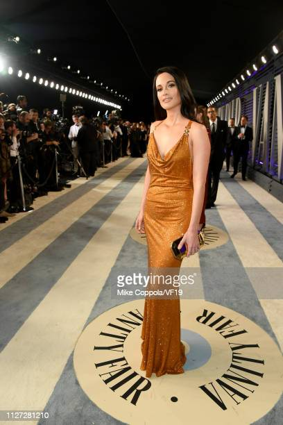 Kacey Musgraves attends the 2019 Vanity Fair Oscar Party hosted by Radhika Jones at Wallis Annenberg Center for the Performing Arts on February 24...