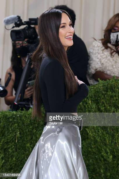 """Kacey Musgraves attends the 2021 Met Gala benefit """"In America: A Lexicon of Fashion"""" at Metropolitan Museum of Art on September 13, 2021 in New York..."""