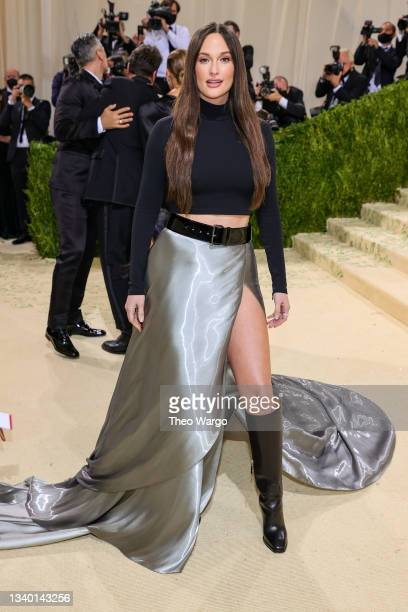 Kacey Musgraves attends The 2021 Met Gala Celebrating In America: A Lexicon Of Fashion at Metropolitan Museum of Art on September 13, 2021 in New...