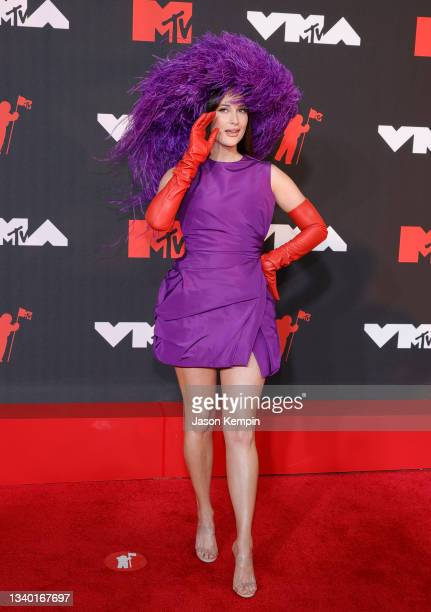 Kacey Musgraves attends the 2021 MTV Video Music Awards at Barclays Center on September 12, 2021 in the Brooklyn borough of New York City.