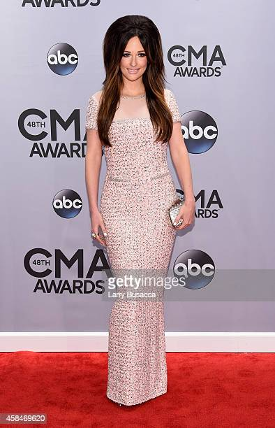 Kacey Musgraves attends the 48th annual CMA Awards at the Bridgestone Arena on November 5 2014 in Nashville Tennessee